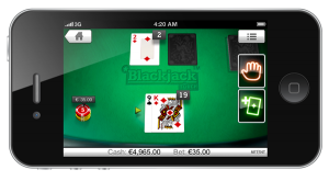 Live Blackjack iPhone